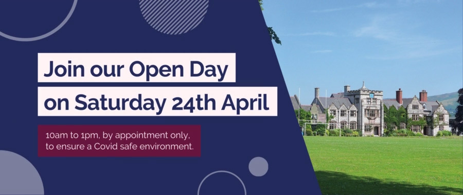 Open day 24th April 2021