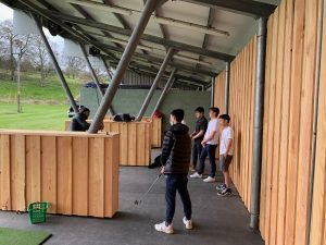 Pupil sat the driving range