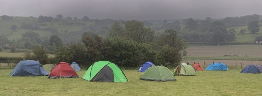 Duke of Edinburgh Qualifying expedition - camping