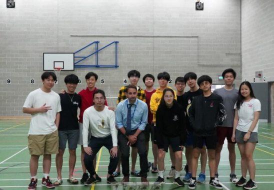 Sixth form badminton