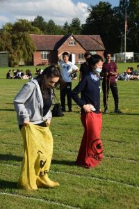 Country Games - sack race